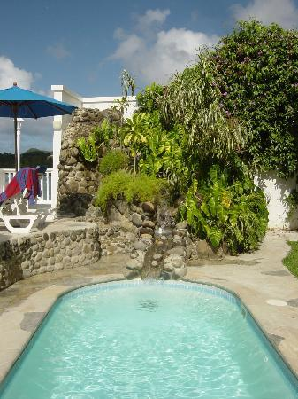 Villa Beach Cottages : The pool at Villa Beach may be small, but there's lots of ocean available!