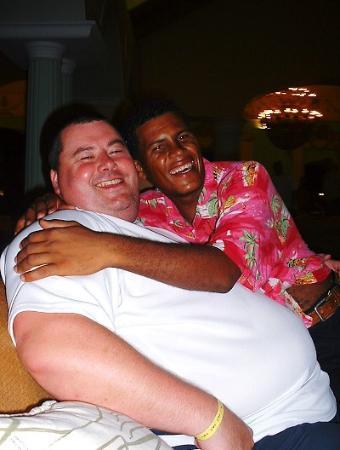 Iberostar Hacienda Dominicus : Me and Antonio(my twin!!!)