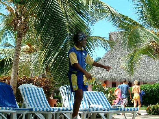 Iberostar Hacienda Dominicus: Antonio enjoying his job!!!