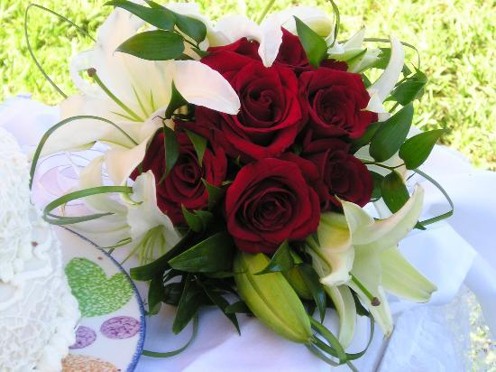 Beaches Turks and Caicos Resort Villages and Spa: The Bouquet of Flowers fro the wedding - Gorgeous!