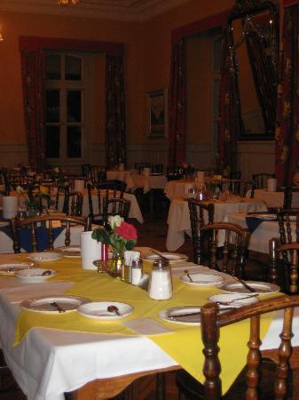 Residence Brunner: Brunner Hotel's dining room.
