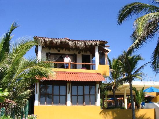 Casa Kau-Kan: Up on our balcony
