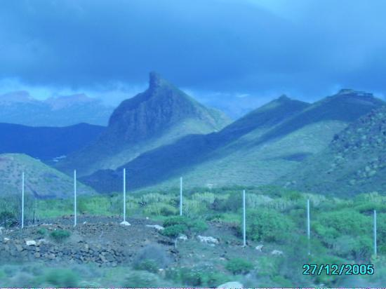 Tenerife, Spain: Tenerifian mountains