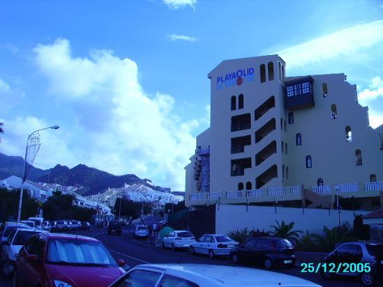Teneriffa, Spanien: Playa Olid Appartments