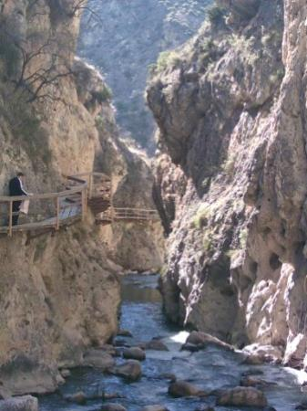 Andalusië, Spanje: Gorge Walk, Castril