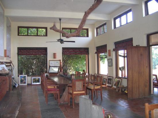 Tala, India: Dining Room