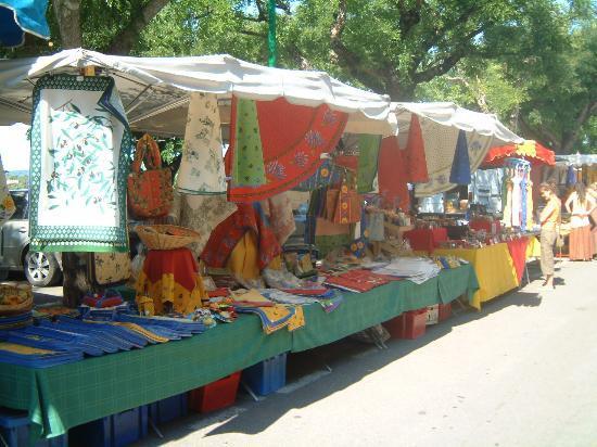 The Var: The market in my village - Regusse