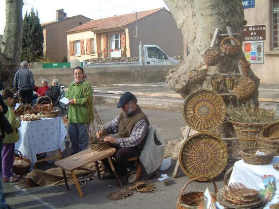 The Var: Local basket maker