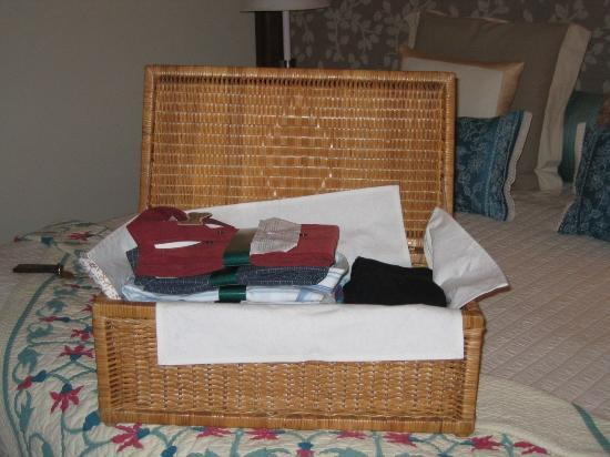 The Oberoi Amarvilas: Laundry
