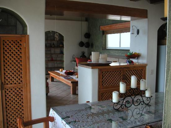 Villa Bella Bed and Breakfast Inn: Kitchen