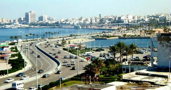 Trypolis, Libia: View to Tripoli