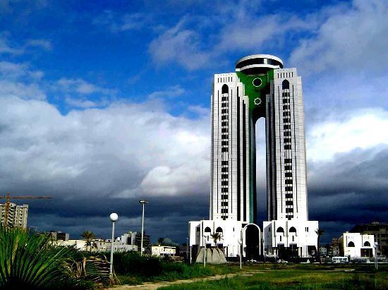 Tripoli, Libyen: Modern Building