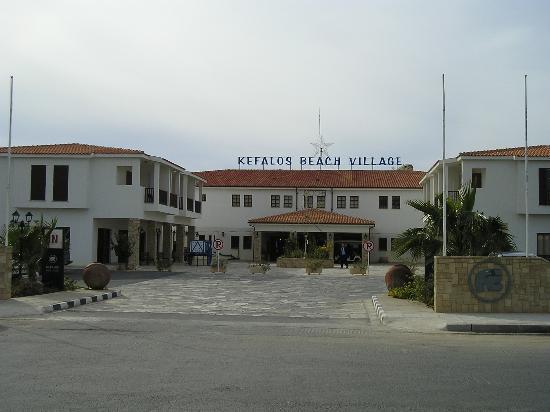 Kefalos Beach Tourist Village: View on Entrance to Kefalos - Jan 06