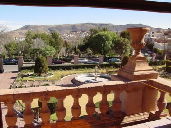 Zacatecas, Mexico: View from inside Museo Francisco Goitia