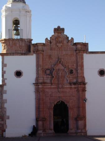 Cerro de la Bufa de Zacatecas:  Capilla de la Virgen del Patrocinio