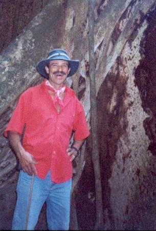Hacienda Guachipelin: Albenos, the friendly tourguide