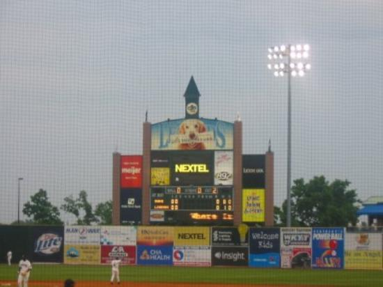 Whitaker Bank Ballpark: Lexington Legends game, June 11,2005.