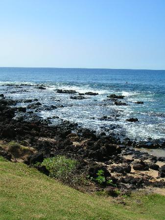 Lanai, هاواي: Hulopo'e Beach, Lanai