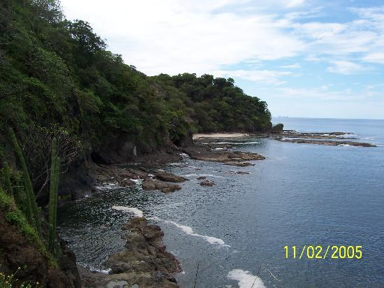 Four Seasons Resort Costa Rica at Peninsula Papagayo: During our snorkeling trip, we took a short hike on an island.