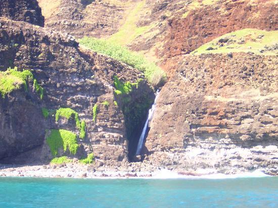 Napali Coast From Boat Tour Picture Of Kauai Coast Resort