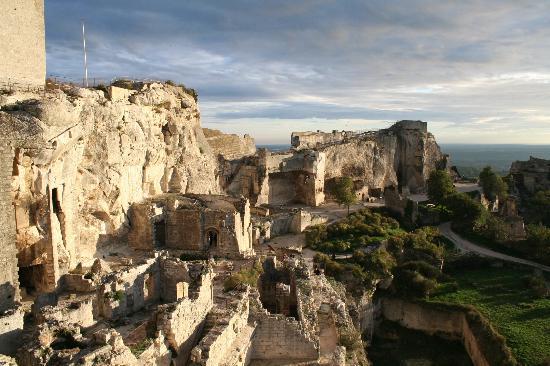 โพรวองซ์, ฝรั่งเศส: Les Baux-de-Provence - Medieval fort