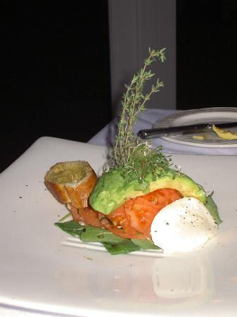 Royal Palms Hotel: The food at Ascots tastes as good as it looks.