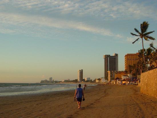 Costa de Oro Beach Hotel: The beach (Costa De Oro in background)
