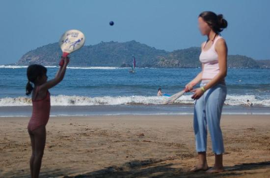 Club Med Ixtapa Pacific: Great views from the beach.
