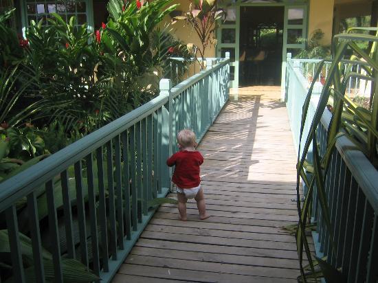 Hotel Casa Turire : Baby Matteo at Turire