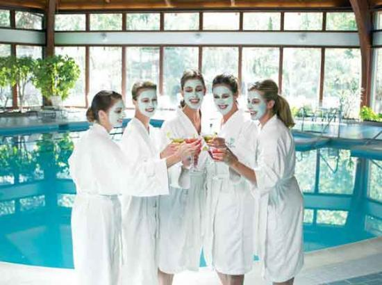 The Abbey Resort & Avani Spa: Before the wedding at the Spa