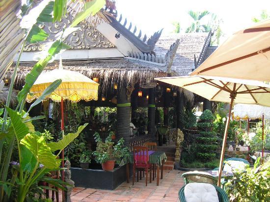 Bopha Siem Reap Boutique Hotel: On site restaurant