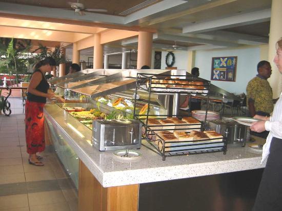 Sheraton Denarau Villas : 1 of 4 sections of the Buffet Breakfast