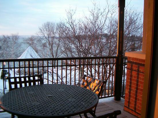 Packwood House: Balcony