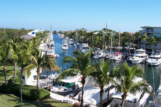Courtyard Key Largo: View to Right from Balcony