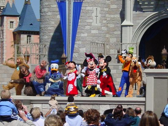 Orlando, Floride : mickey and friends