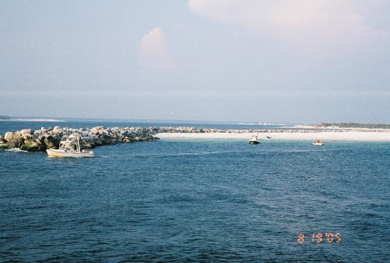 Ocean Towers Beach Club: nearby Shell Island