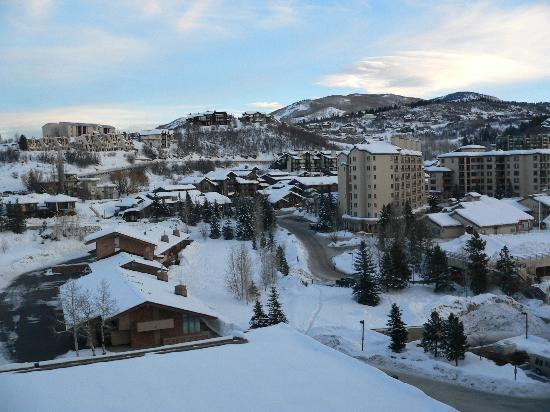 Steamboat Springs, Kolorado: From the Balcony of the Sheraton