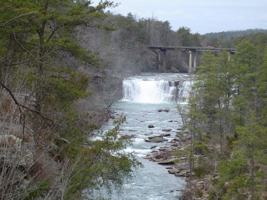 Fort Payne, AL: Little River Canyon from the vista point