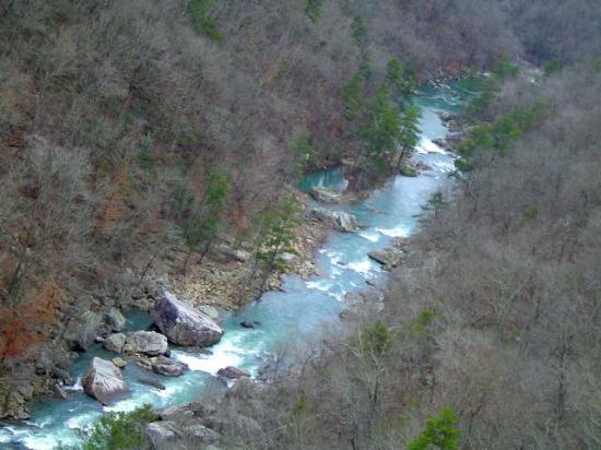 Little River Canyon National Preserve: Turquoise waters