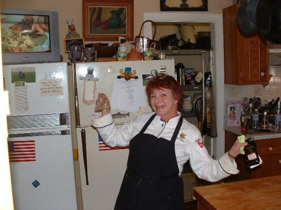 Amber Grove Inn: Alice- World's best Chef!