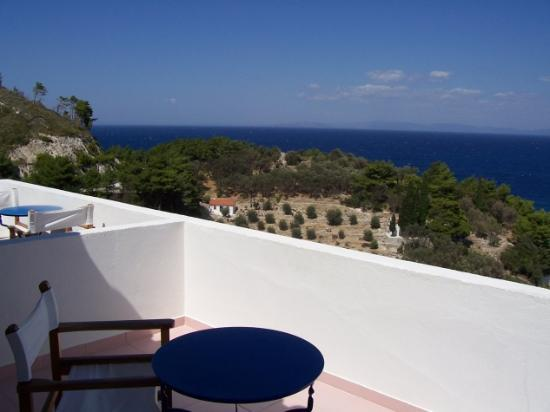Villa Esperus: View from balcony