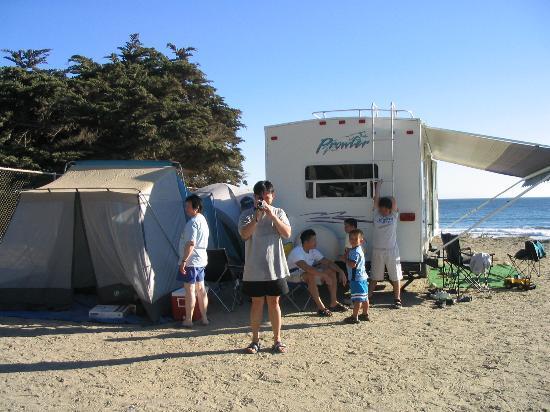 Jalama Beach County Park: trailer for rent