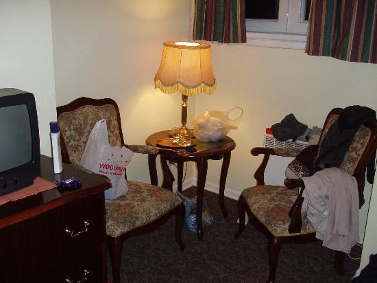 Pensjonat Tuberoza: sitting corner in room, 2-rm apt