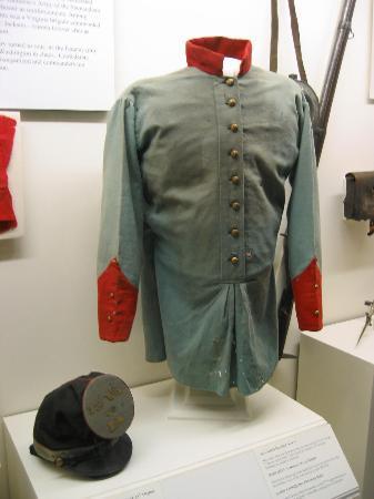 Richmond, VA: Early uniform from Battle of Chancellorsville