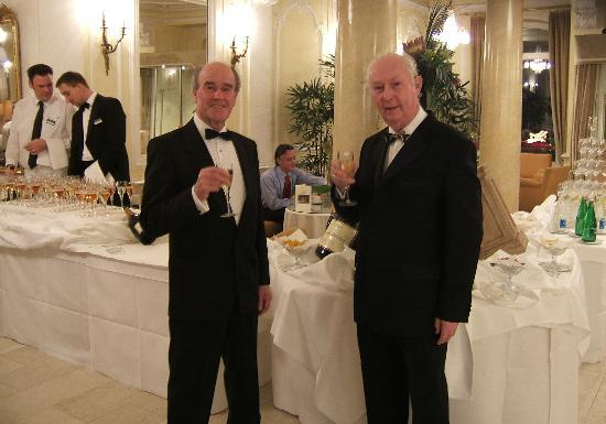 Lindner Grand Hotel Beau Rivage: Champagne Reception on New Year's Eve