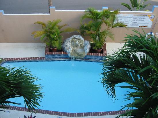 Parador El Buen Cafe Hotel: Pool area