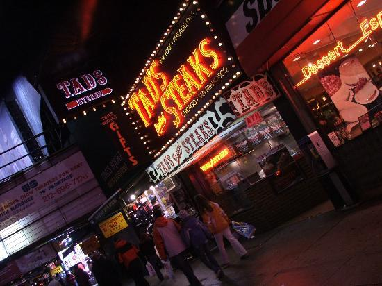 Tad's Broiled Steaks : Tads - Times Square