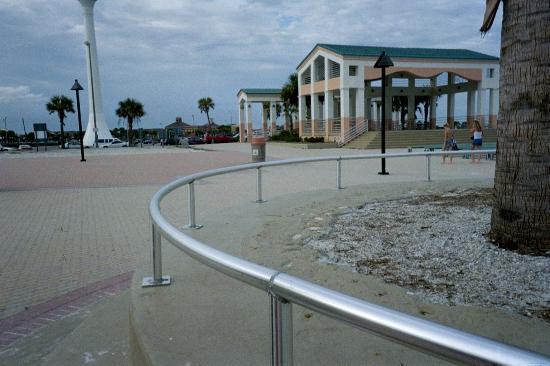 Pensacola Beach, FL: Some of the pavillions