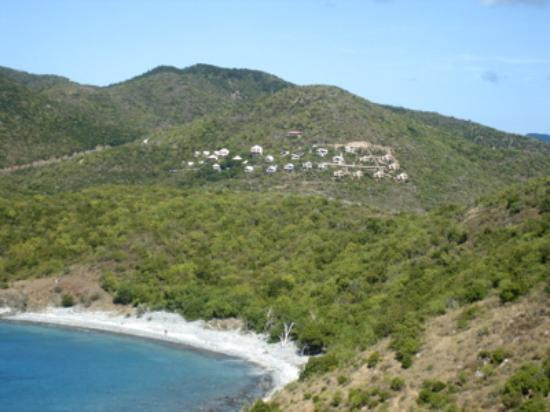 Concordia Eco-Resort: the view from Ram Head of Concordia