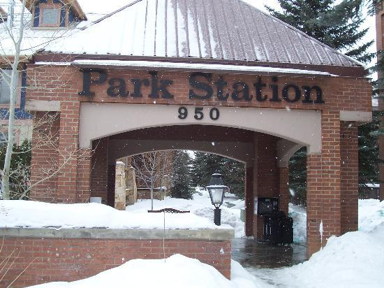 Park Station Resort Condominium: The Front Entrance of the Condo